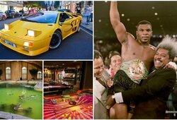 Prarasta įspūdinga automobilių kolekcija ir 52 kambarių namas: kas sukėlė M.Tysono bankrotą?
