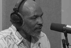 M.Tysonas susižeidė veidą, D.Haye ragina jį rinktis kovas prieš bendraamžius