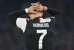"""Italijoje – """"Juventus"""" pralaimėjimas ir """"Inter"""" lygiosios"""