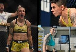 Į internetą pasklido nuogos buvusios UFC čempionės J.Andrade nuotraukos: kovotoja nesijaudina, nes tai leido apmokėti būstą ir automobilį