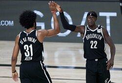 """""""Nets"""" užsitikrino vietą atkrintamosiose"""