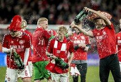Anglijos žiniasklaida: Danijos rinktinės futbolininkai įtariami permiegoję su viešbučio darbuotojomis