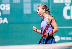 K.Bubelytės kraityje – trys laimėti tarptautiniai jaunių teniso turnyrai iš eilės