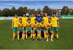 Lietuvos futbolininkai atsitiesė po sutriuškinimo ir netikėtai patiesė rumunus