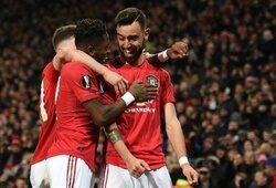 """Europos lyga: triuškinamą pergalę iškovojęs """"Man Utd"""" užtikrintai žengė į kitą etapą"""
