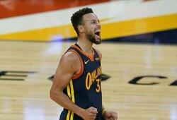 Istorinis kontraktas: S.Curry įspūdinga suma susiejo ateitį su dabartine komanda