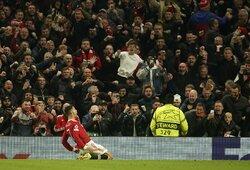 """H.Maguire'o ir C.Ronaldo įvarčiai per 6minutes išgelbėjo """"Man United"""", """"Chelsea"""" iškovojo triuškinančią pergalę, """"Juventus"""" rungtynių pabaigoje palaužė """"Zenit"""""""