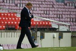 """""""Barcelona"""" apsisprendė: po sezono atleis R.Koemaną"""