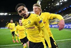 """""""Borussia"""" vunderkindas įsirašė į Čempionų lygos istorijos metraščius"""