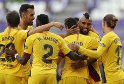 """A.Vidalio pelnytas įvartis padovanojo """"Barcelonai"""" svarbią pergalę"""