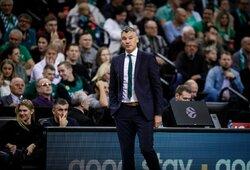 """Š.Jasikevičius: """"Nenorėjau būti treneriu"""""""