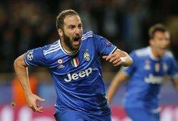 """G.Higuainas neketina palikti """"Juventus"""""""