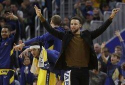 S.Curry karjeros pradžioje norėjo žaisti kitame NBA klube
