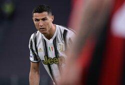 """Italijos žiniasklaida: """"Juventus"""" žaidėjai atsiskyrė nuo C.Ronaldo"""
