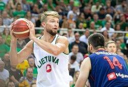 Lietuvos rinktinė prieš Serbiją pralaimėjo dar vieną dramą