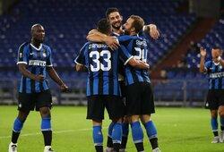 """Europos lygos aštuntfinalis: nerealizuotas """"Getafe"""" 11 m baudinys ir """"Inter"""" pergalė"""