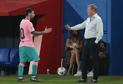 """R.Koemanas: """"Nežinau, ar galėsiu ramiai gyventi po L.Messi žodžių"""""""