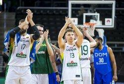Lietuvos rinktinė pasirengimą baigė triuškinama pergale