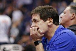 """Potencialus A.Karnišovo konkurentas? M.Cubanas siūlo """"Bulls"""" klubui buvusį NBA žaidėją"""