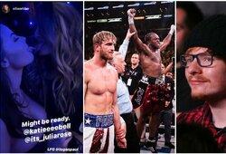 KSI prieš L.Paulą: garsioji nuogalė tarp VIP žiūrovų, visus apkvailinęs E.Sheerano antrininkas ir rekordinis žiūrimumas