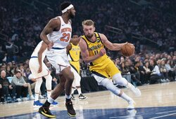 """""""Pacers"""" pergalę įtvirtino galingai žaidęs D.Sabonis"""