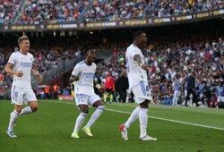"""El Clasico"" mūšyje – ""Real"" komandos pergalė svečiuose prieš ""Barcelona"" futbolininkus"