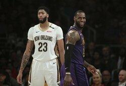 """""""Space Jam 2"""" vaidins būrys NBA žvaigždžių"""