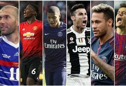 Top 50: brangiausi visų laikų futbolo perėjimai, įvertinus infliaciją