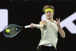 Teniso žvaigždės meistriškumą demonstruoja Roterdame