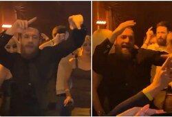 """Vakarėlyje po """"UFC 246"""" turnyro – C.McGregoro linksmybės ir nepasirodęs D.Cerrone'as"""