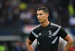 4 valandomis anksčiau už kitus į treniruotę atėjusio C.Ronaldo testų rezultatai – geresni nei prieš karantiną