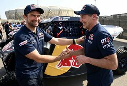 Dakaro etapą laimėjusiam amerikiečiui – 50 valandų bauda, C.Despres atidavė komandos draugui variklį ir baigė ralį