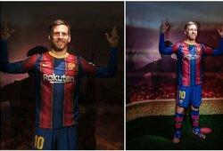 Naujoji L.Messi vaškinė figūra prajuokino futbolo gerbėjus