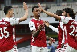 """Anglijoje – """"Arsenal"""" pergalė prieš """"West Brom"""" futbolininkus"""