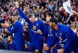 """Barcelona"" antroje rungtynių dalyje sutriuškino ""Maccabi"""
