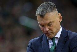 """Vėl lyderystės pasigedęs Š.Jasikevičius: """"Mes turime jausti, kas kiekvienas esame komandoje – išeik ir pramesk kaip Walkupas"""""""