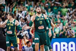 Lietuvos rinktinė FIBA reitinge prarado dvi pozicijas
