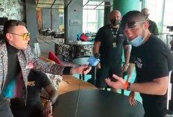 """UFC legendos interviu pertraukęs Ch.Nurmagomedovas: """"GSP, kada tu sugrįši?"""""""
