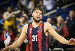 """""""Baskonia"""" lietuviai pralaimėtose rungtynėse surinko 7 taškus"""