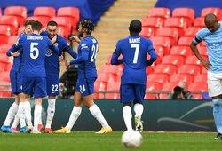 """H.Ziyecho įvartis atvėrė """"Chelsea"""" duris į FA taurės finalą"""