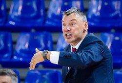 Š.Jasikevičiaus auklėtiniai Eurolygą pradėjo pergale prieš CSKA