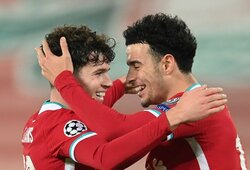 """Jaunieji """"Liverpool"""" futbolininkai Čempionų lygoje sukūrė istoriją"""