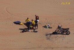 Dar viena nelaimė Dakare: olando širdis trasoje neplakė 10 minučių, jo būklė – kritinė