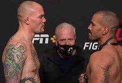 """""""UFC on ESPN 18"""": A.Smithas svėrėsi paskutinis, tačiau jo kova su D.Clarku –patvirtinta"""