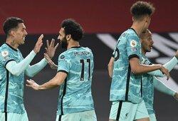 """Principiniame mūšyje – svarbi """"Liverpool"""" komandos pergalė prieš """"Man Utd"""""""
