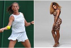 """Nuogą S.Williams pamačiusi tenisininkė: """"Savaitę buvau šoke"""""""