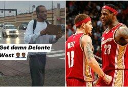 Milijonus iššvaistęs NBA krepšininkas gatvėje prašė išmaldos, D.Riversas ir kiti stengiasi jam padėti