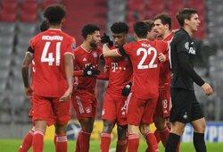 """Čempionų lyga: """"Bayern"""" iškovojo užtikrintą pergalę"""