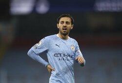 """""""Man City"""" saugas B.Silva pasakė, kurį prancūzą norėtų matyti komandoje"""