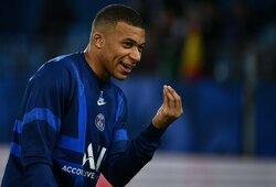 Ispanijos žiniasklaida: K.Mbappe atsisako naujo kontrakto su PSG